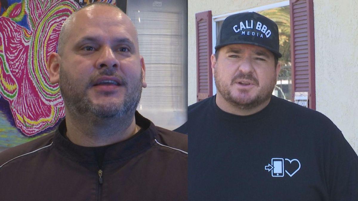Victor lopez (el pollo grill) and shawn walchef (cali bbq)