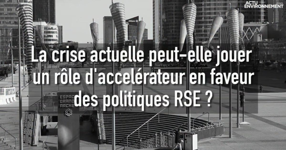 Les politiques RSE face à la pandémie : « certaines entreprises ont compris, d'autres toujours pas »