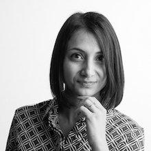 Portrait photograph of Fabiana Zollo