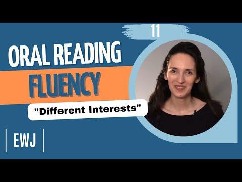 englisch oral reading